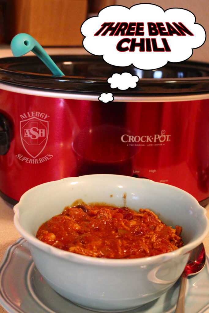 Super Easy Three Bean Chili