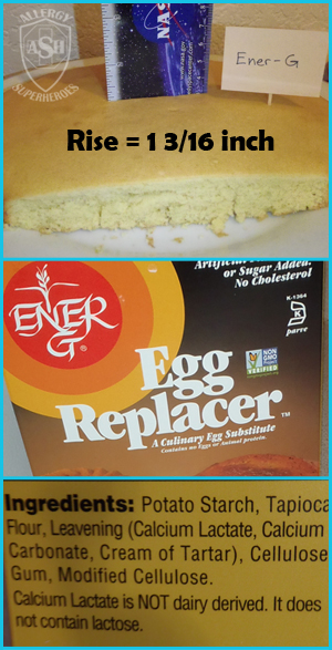 Which Egg Replacer Works Best for Cake? - This is Ener-G | Allergy Superheroes Blog