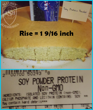 Which Egg Replacer Works Best for Cake? - This is Soy Protein Powder | Allergy Superheroes Blog
