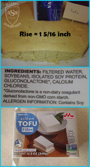 Which Egg Replacer Works Best for Cake? - This is Tofu | Allergy Superheroes Blog
