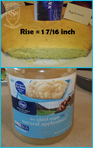 Which Egg Replacer Works Best for Cake? - This is Applesauce | Allergy Superheroes Blog