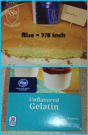 Which Egg Replacer Works Best for Cake? - This is Unflavored Gelatin | Allergy Superheroes Blog