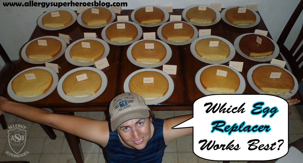 Which Egg Replacer Works Best for Cake? | Allergy Superheroes Blog