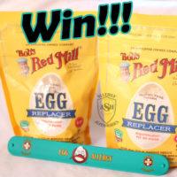 Win Bob's Red Mill Egg Replacer and an Allergy Superheroes Egg Allergy Slap Bracelet! | Enter on the Allergy Superheroes Blog