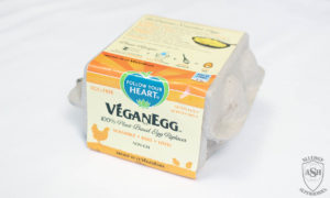 VeganEgg French toast recipe box by Food Allergy Superheroes Egg Free