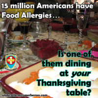 15 million Americans have Food Allergies is one at your table Allergy Superheroes