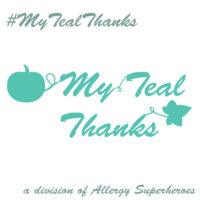 #MyTealThanks for spreading Food Allergy Positivity Allergy Superheroes