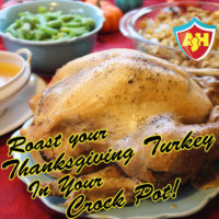 Roast a Whole Turkey in your Crock Pot | Thanksgiving just got a whole lot easier! | Allergy Superheroes Blog