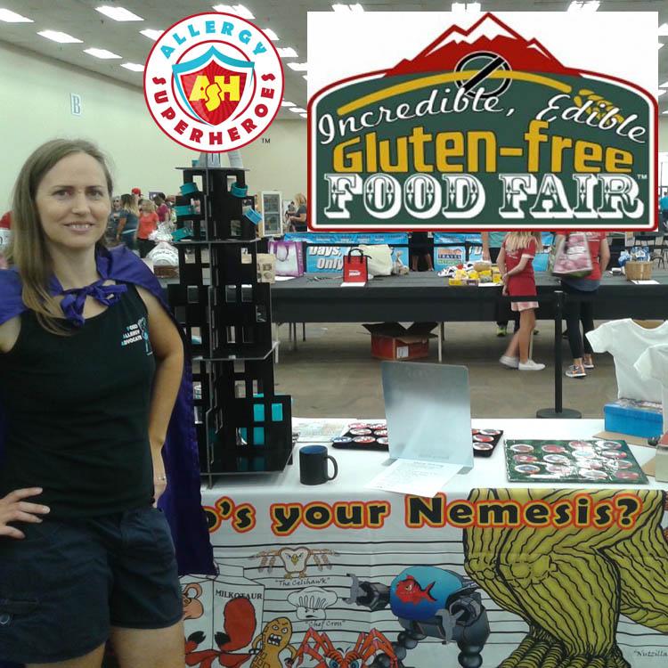 Gluten Free Food Fair by food Allergy Superheroes Featured