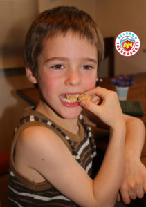Allergy Superheroes review of Re-Launched Don't Go Nuts Bars