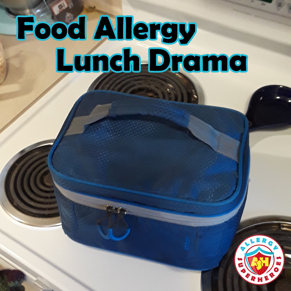 Food Allergy Lunch Drama | Lunchbox | Allergy Superheroes