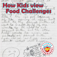 How Kids view Food Challenges | 5th grader's journal describing an allergic reaction and fear of a food challenge | by Food Allergy Superheroes