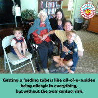 How Feeding Tubes are like Food Allergies | Family with Grandma | by Allergy Superheroes
