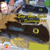 Allergy-Friendly Batmobile Birthday Cake | Cake Decorating 101 | by Allergy Superheroes