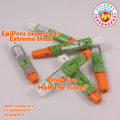 Fired and Jammed EpiPens scattered | EpiPens Exposed to Extreme Heat Only fire Half the Time! | Food Allergy Superheroes
