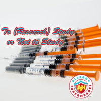 Deciding whether to join a research study with lots of needles | Allergy Superheroes Blog