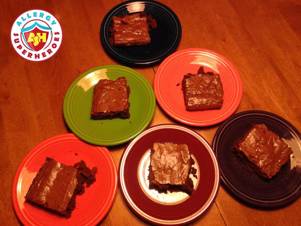 Fudgy Brownies | Allergen Free Desserts | Cookbook Review | Food Allergy Superheroes