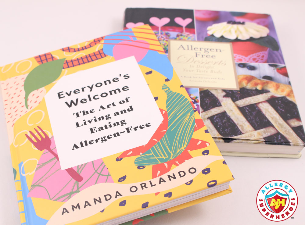 Amanda Orlando's Cookbooks | Everyone's Welcome | Allergen-Free Desserts | Cookbook Review | Food Allergy Superheroes