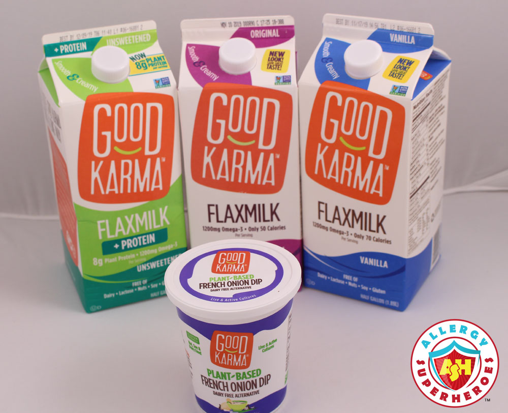Good Karma Flaxmilk made a generous donation to our event | Food Allergy Superheroes