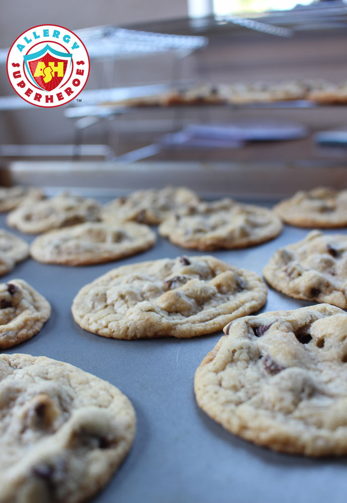 Egg Free Chocolate Chip Cookies | Food Allergy Superheroes