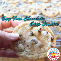 Yummy Egg Free Chocolate Chip Cookies | Food Allergy Superheroes
