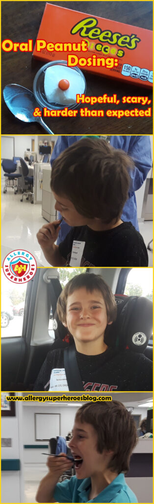 Oral Peanut Dosing: Hopeful, scary, and harder than expected | Food Allergy Superheroes
